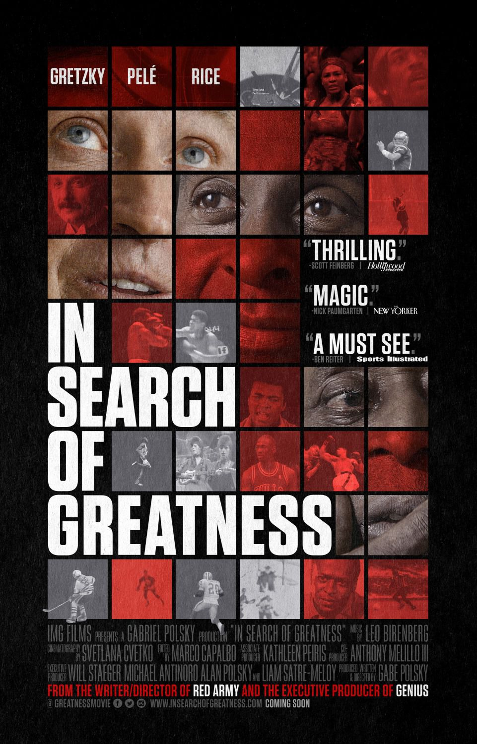 In Search of Greatness - film poster 2018