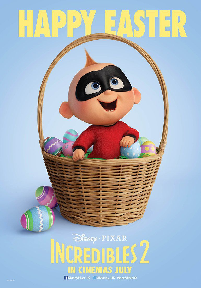 Incredibles 2 - Happy Easter