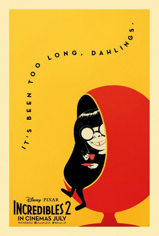 Incredibles 2 - Incredibili 2 - its been too long, dahlings - Edna