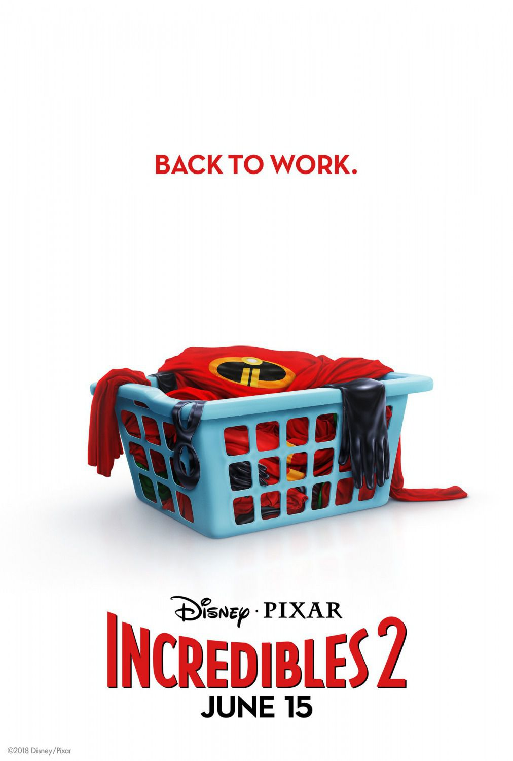 Incredibles 2 - Incredibili sequel - poster laundy