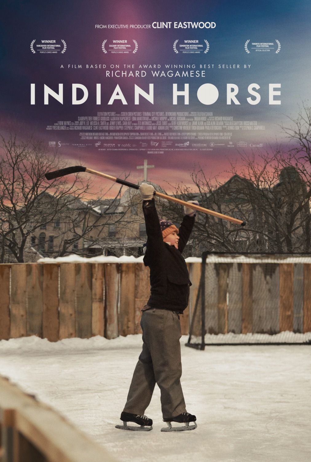 Indian Horse - based on best seller by Richard Wagamese - film poster 2018