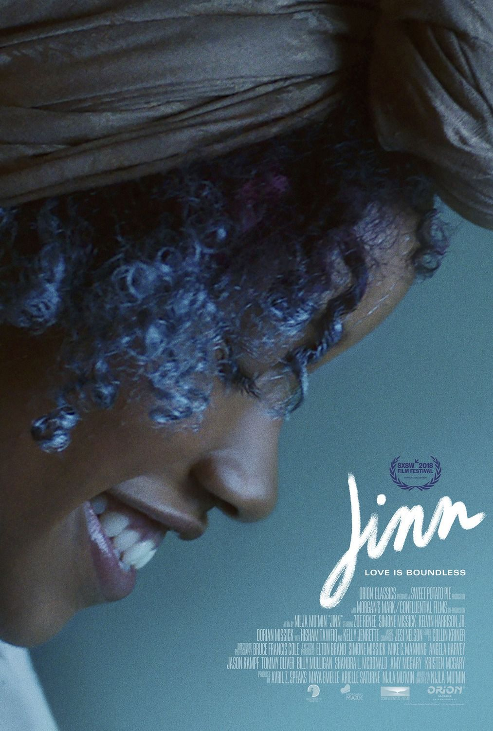 Jinn (2018) Love is boundless - film poster
