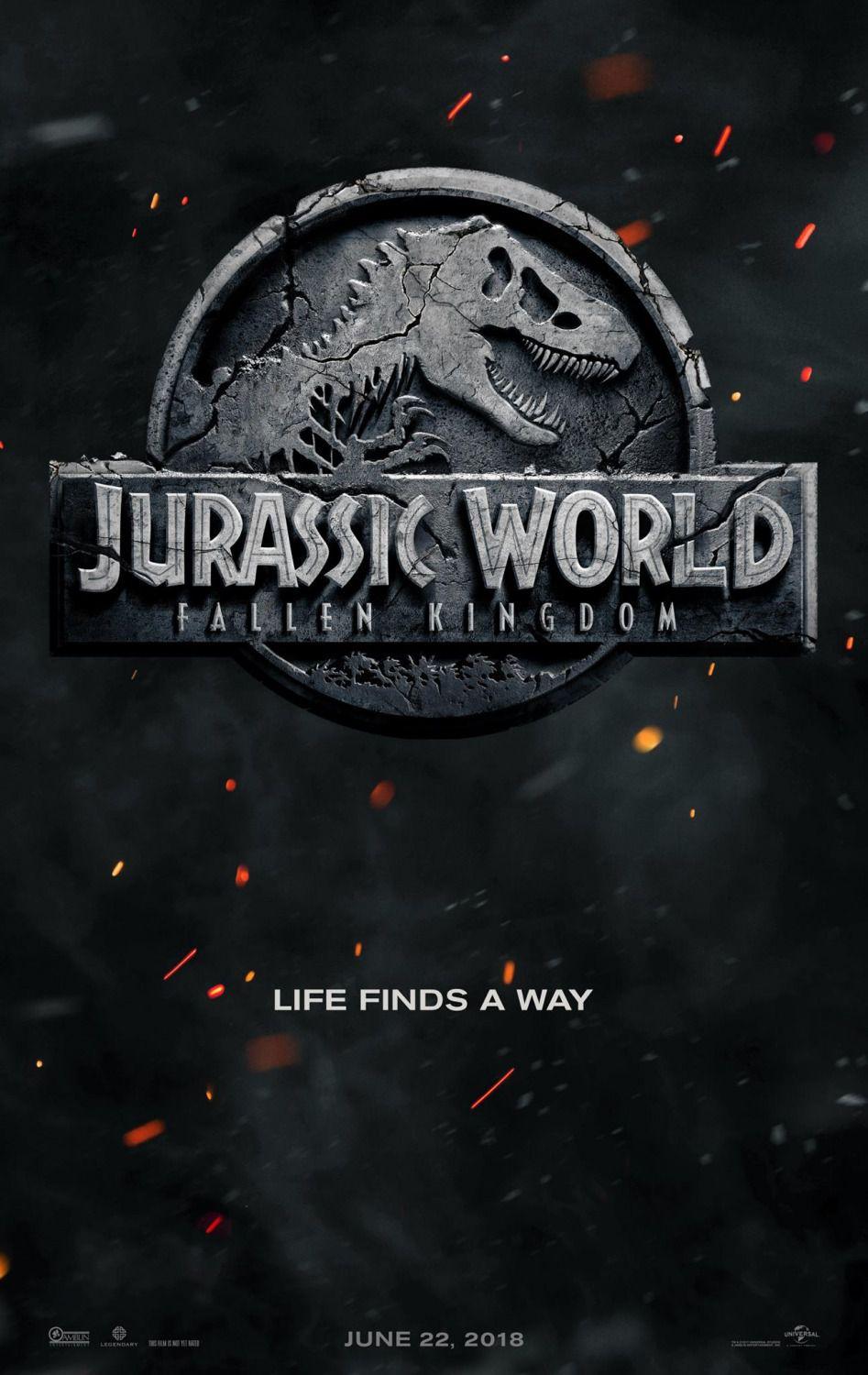 Jurassic World Fallen Kingdom - film poster