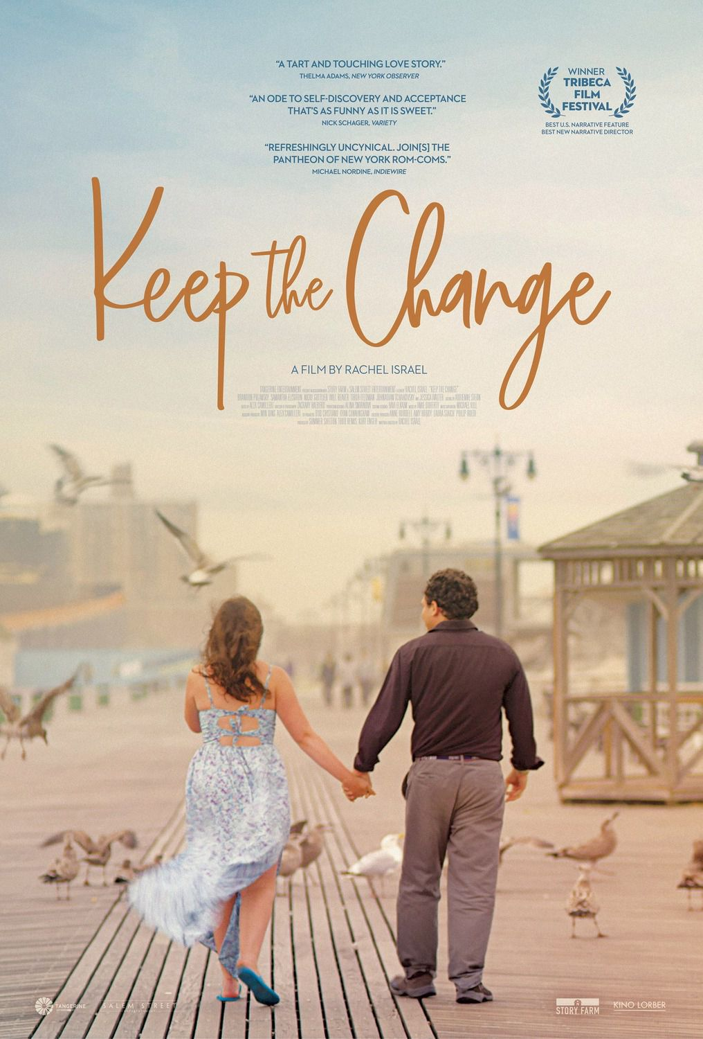 Keep the Change (2018) - film poster