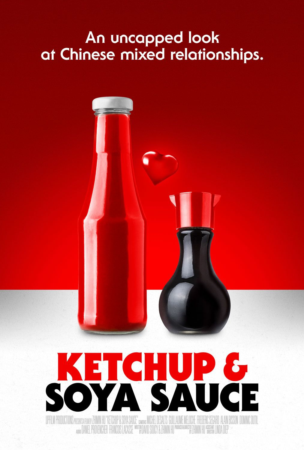 Ketchup and Soya Sauce - uncapped look at Chinese mixed relationships - film poster 2019