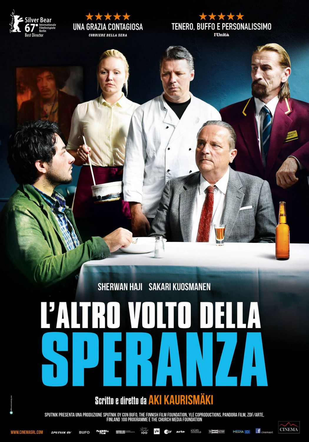 L'Altro Volto della Speranza - The Other Side of Hope - Toivon Tuolla Puolen -  film poster