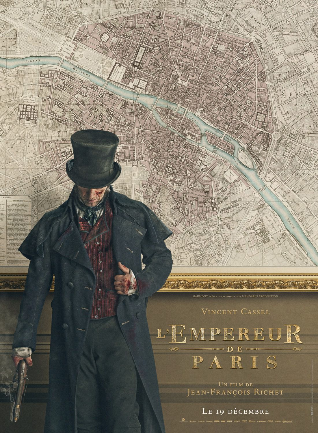 Vincent Cassel - Paris Map