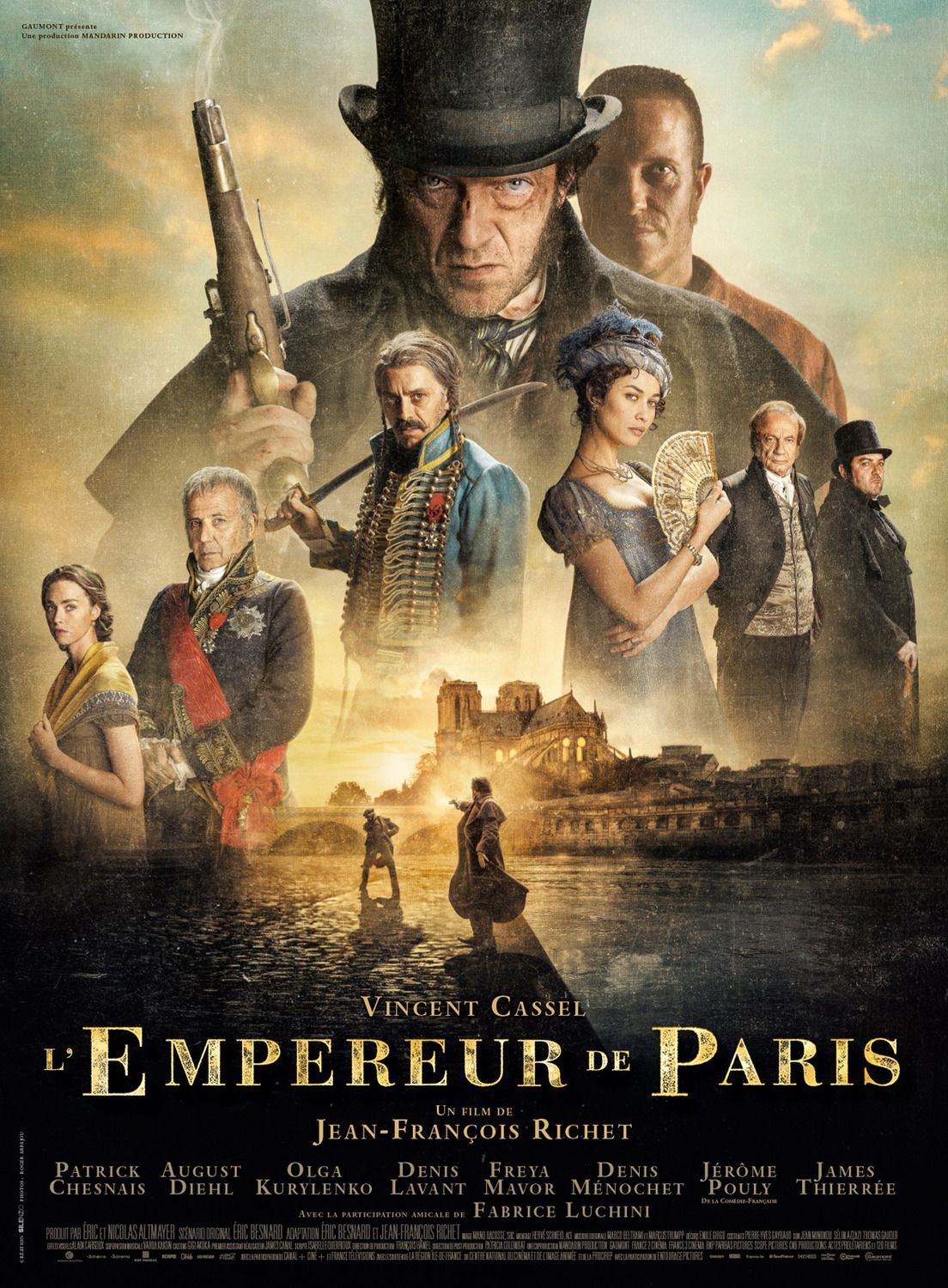 The Emperor od Paris - L'Imperatore di Parigi - L'Empereur de Paris (2018)
