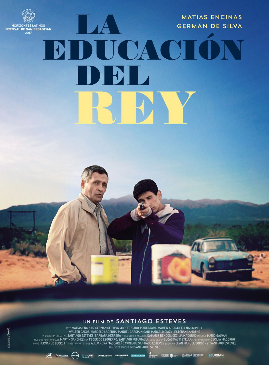 La Educacion del Rey - The Education of the King - L'Educazione del Re - film poster