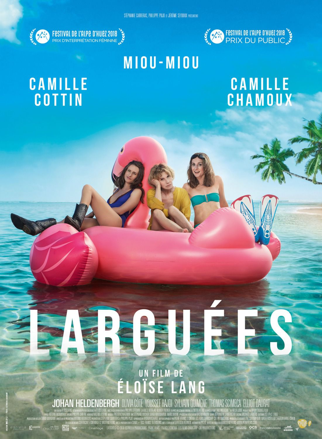 Larguees - Cast: Camille Cottin, Miou Miou, Camille Chamoux - film poster