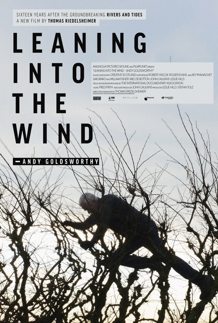 ILeaning into the Wind Andy Goldsworthy by Thomas Riedelsheimer - film poster