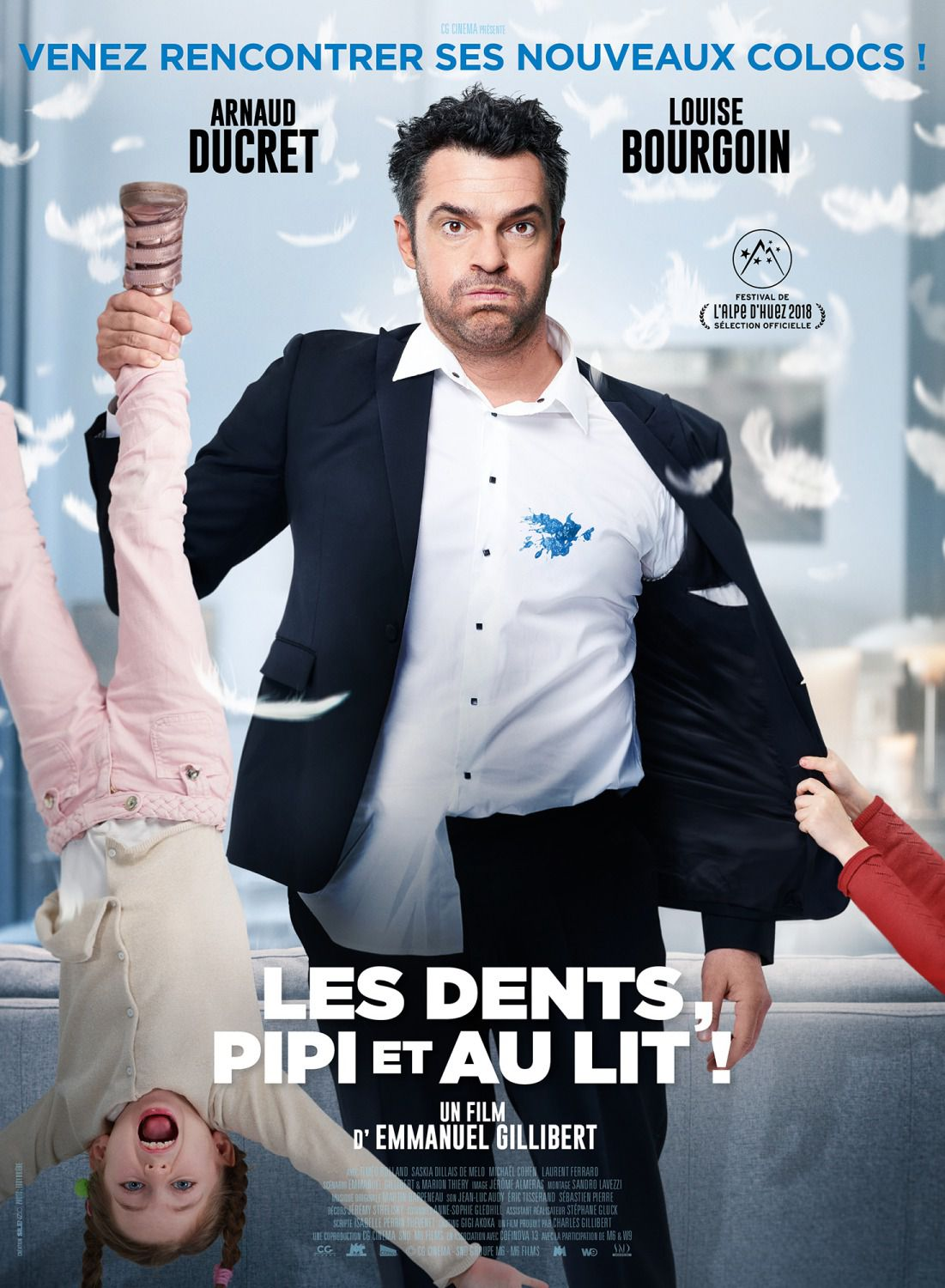 Les Dents Pipi et au Lit - comedy film poster