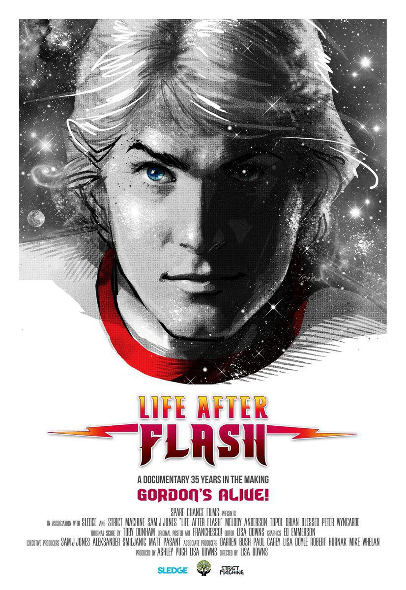 Life after Flash - documentary 35 years in the making Gordon's Flash - film poster