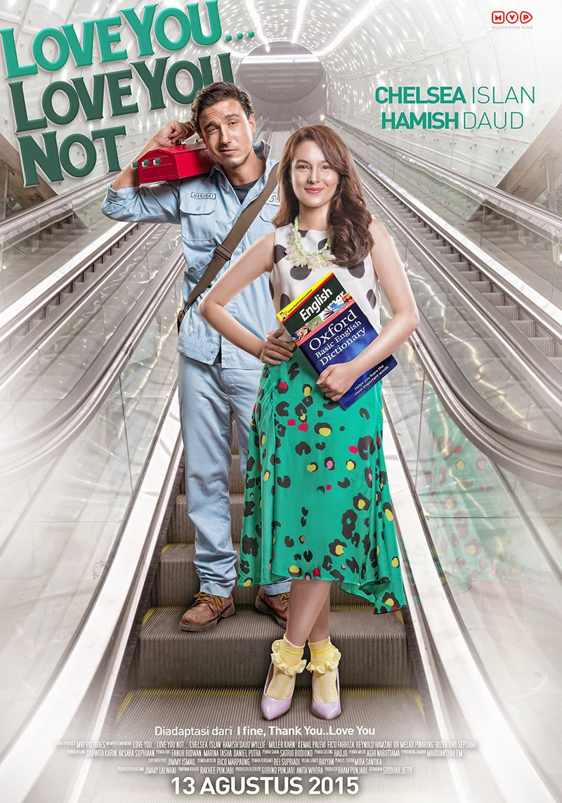 Love You ... Love You Not - Cast: Chelsea Islan, Hamish Duad - film poster