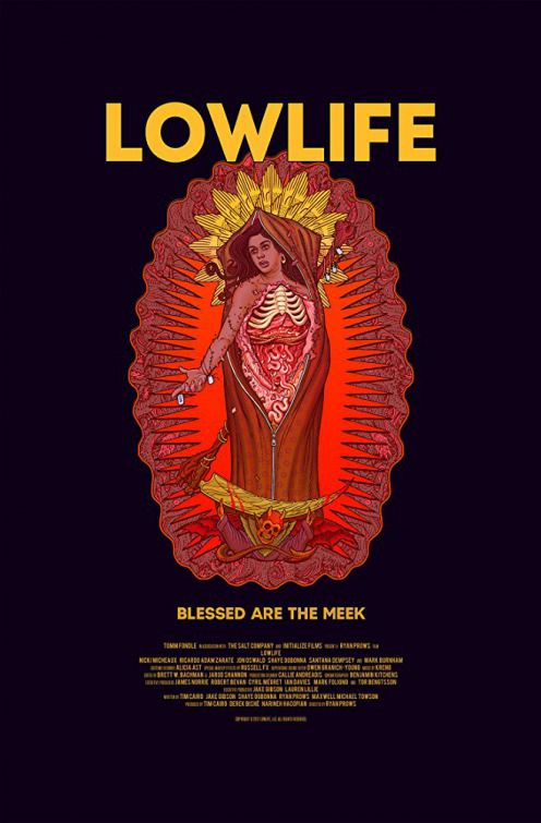 Lowlife  - red scary film poster