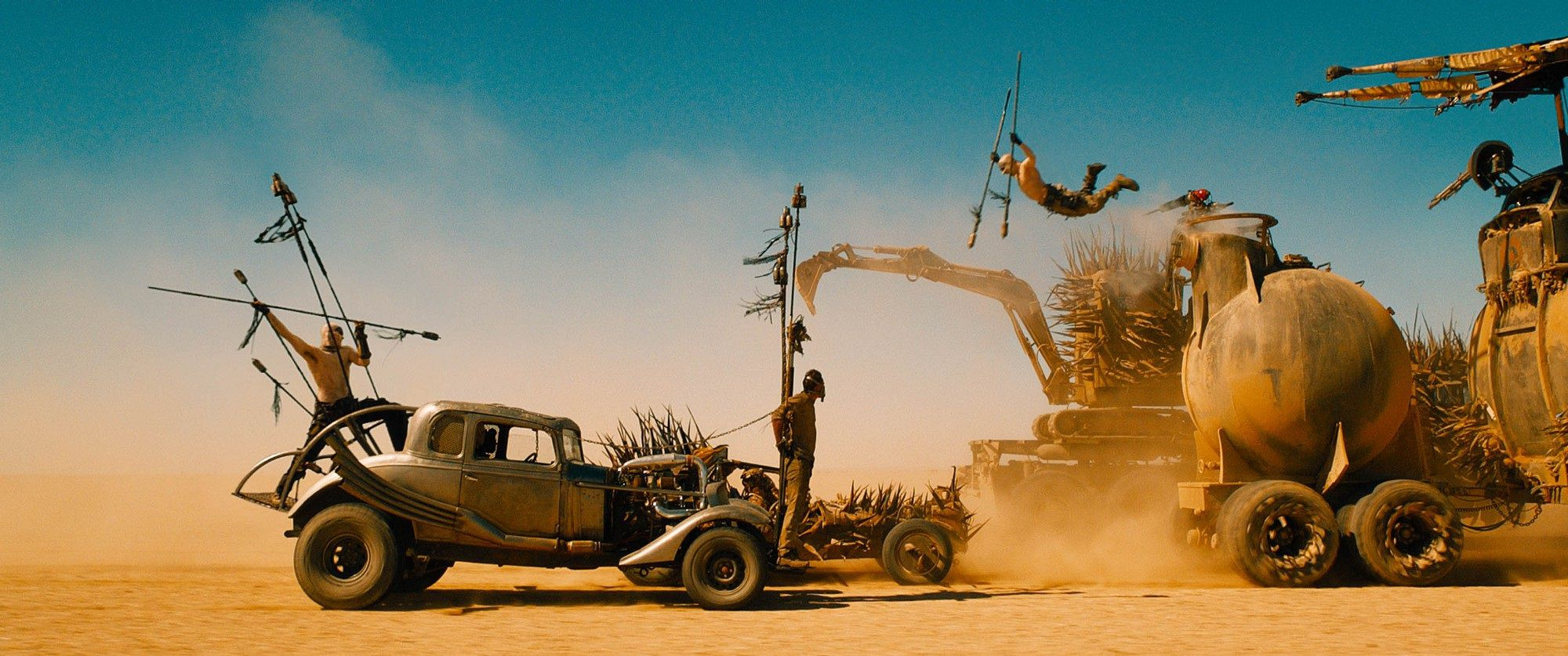 Mad Max Fury Road 2015 Science Fiction Movie scene desert