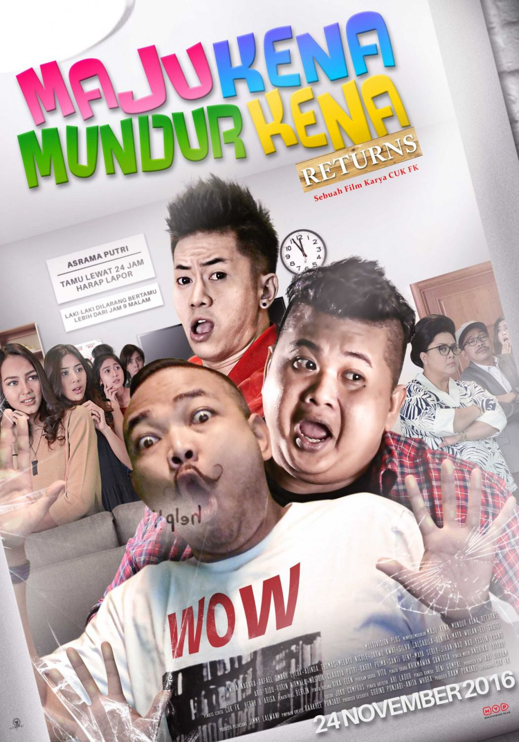 Maju Kena Mundur Kena Returns - comedy film poster