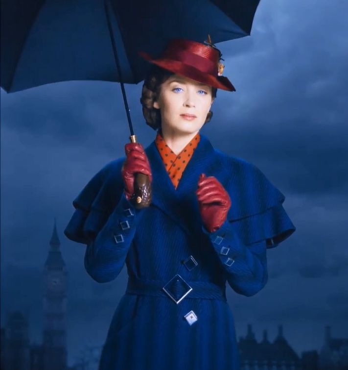 Mary Poppins Returns - il Ritorno di Mary Poppins - Emily Blunt