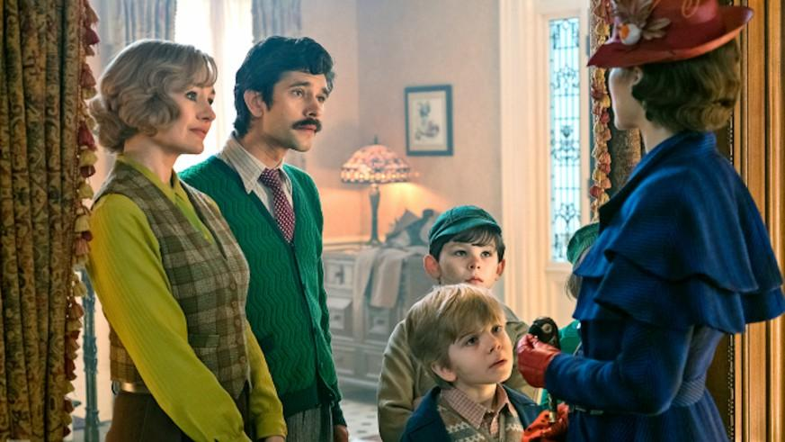 Mary Poppins Returns - il Ritorno di Mary Poppins - Emily Blunt  - presentation