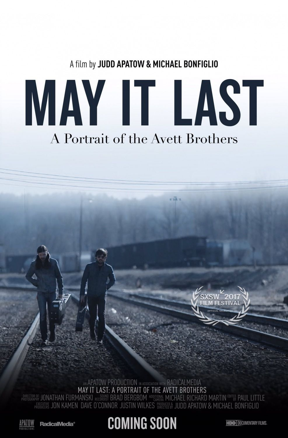 May it Last a portrait of the Avett Brothers - film poster 2018 slice of life