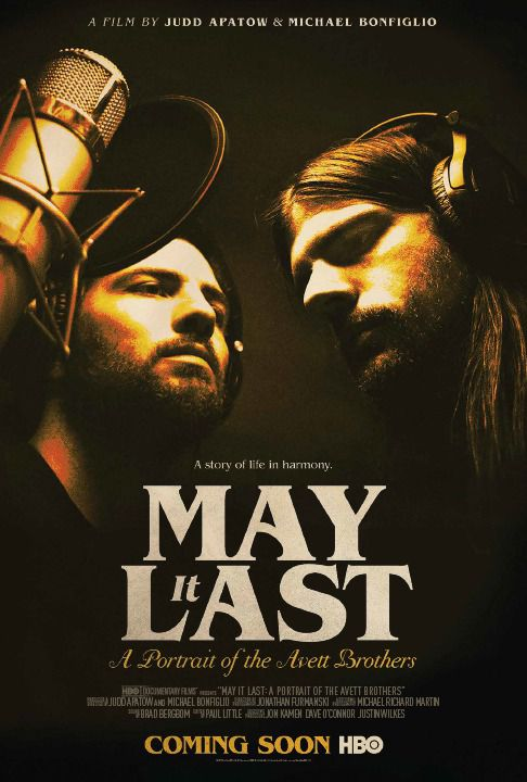 May it Last a portrait of the Avett Brothers - film poster 2018