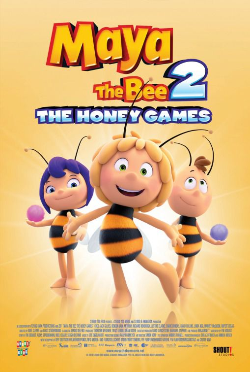 Maya the Bee the Honey Games - Ape Maya 2 the movie