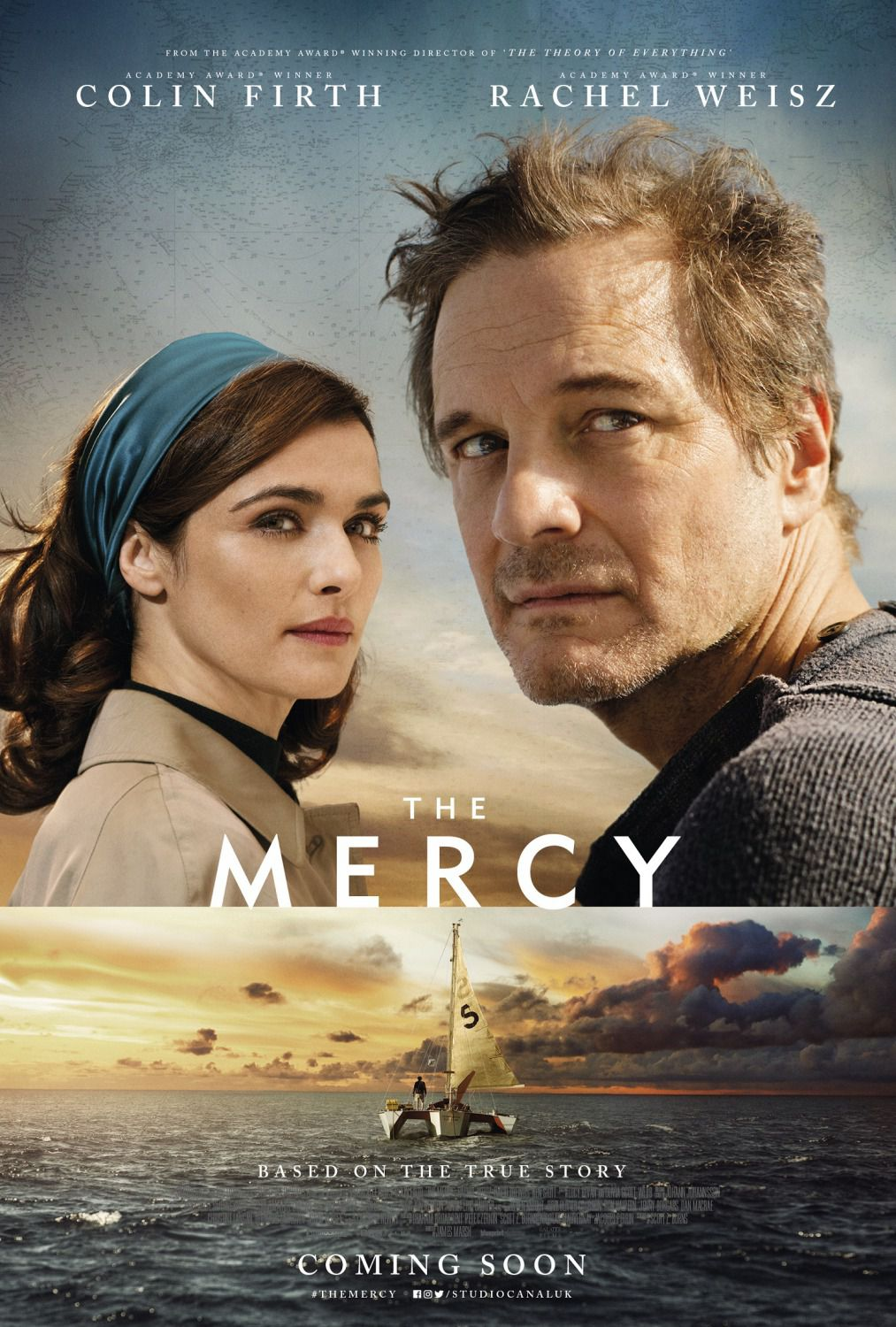 Mercy - Colin Firth, Rachel Weisz - film poster 2018