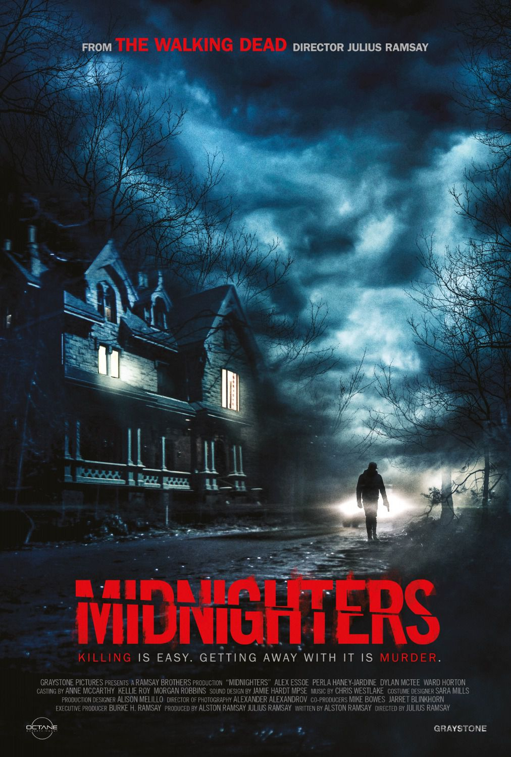 Midnighters - scary film poster 2018