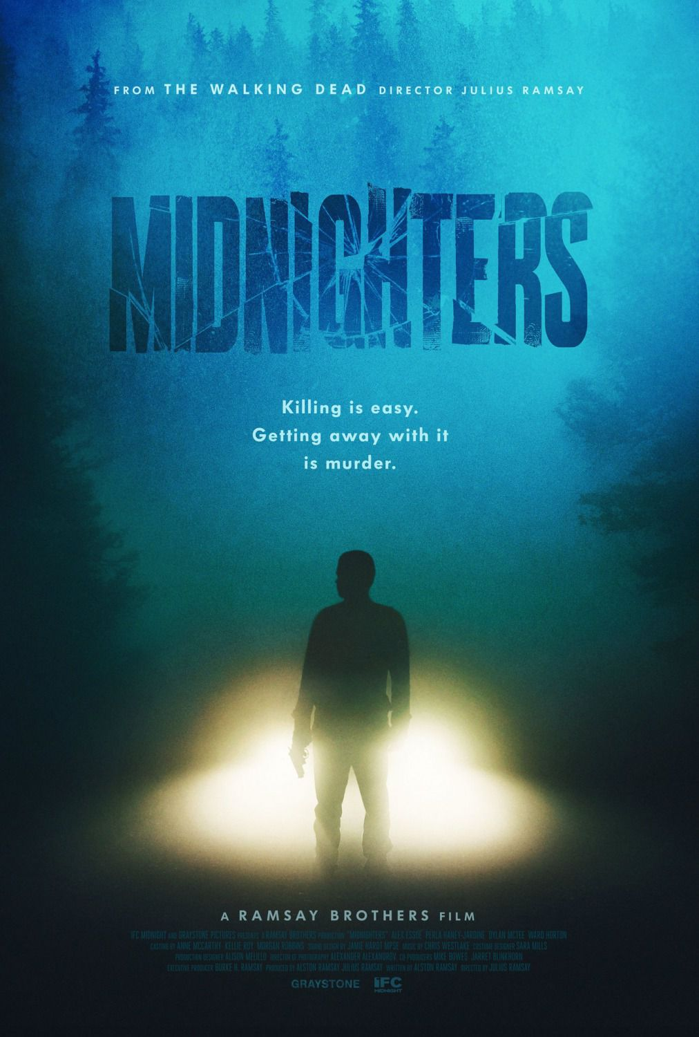Midnighters - killing is easy, getting away with it is Murder - thiller film poster 2018