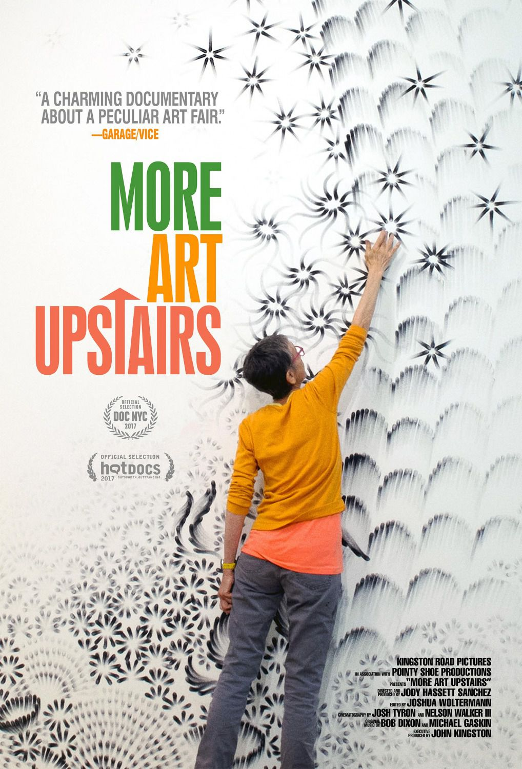 More Art Upstairs - film poster 2018