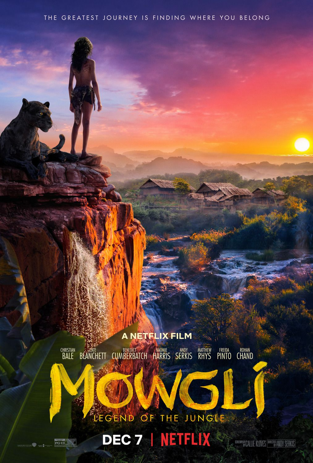 Mowgli 2018 - live action poster