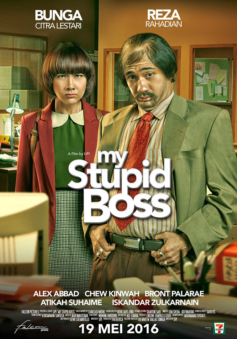 My Stupid Boss - comedy film poster