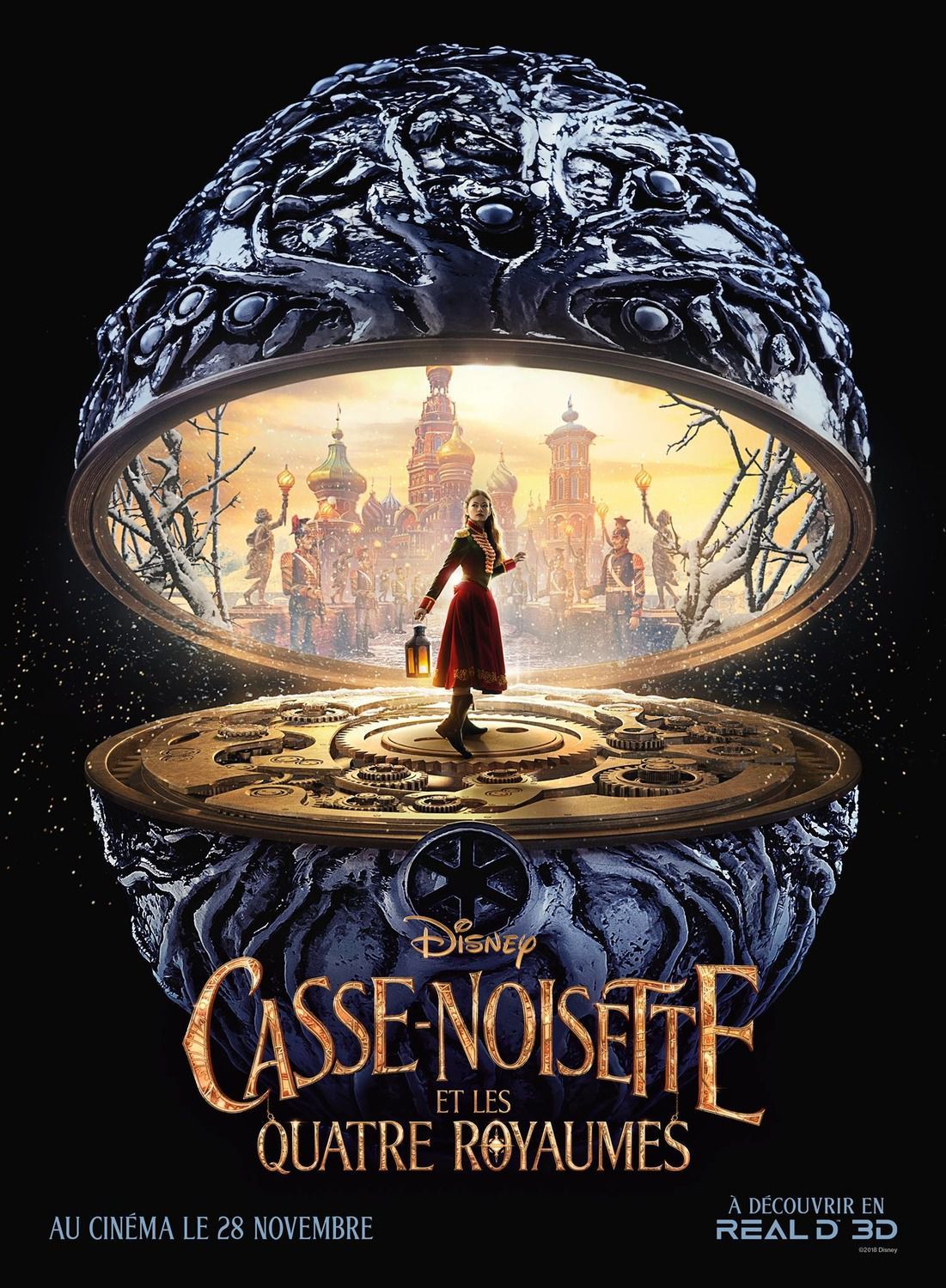 Nutcracker and the four Realms - Schiaccianoci live action - Casse-Noisette - poster collection