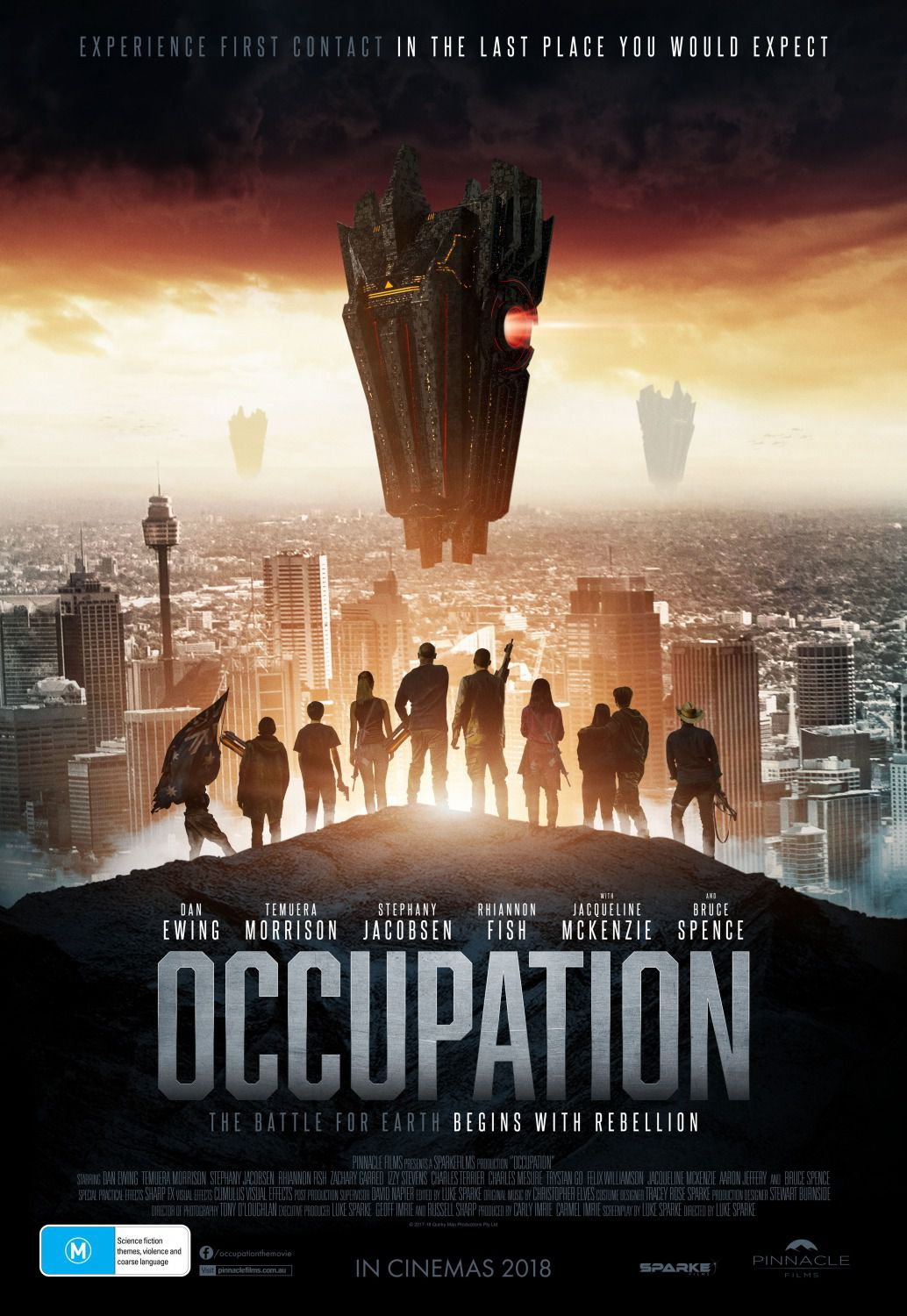 Occupation - scifi alien invasion - film poster