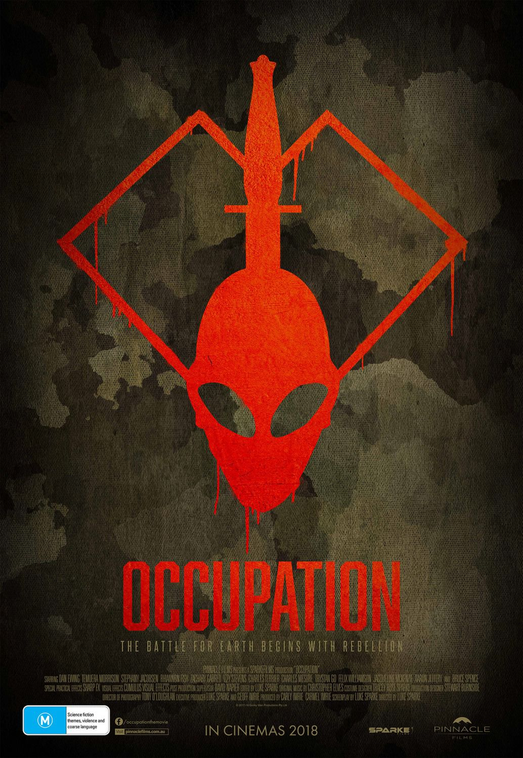 Occupation - against Alien logo