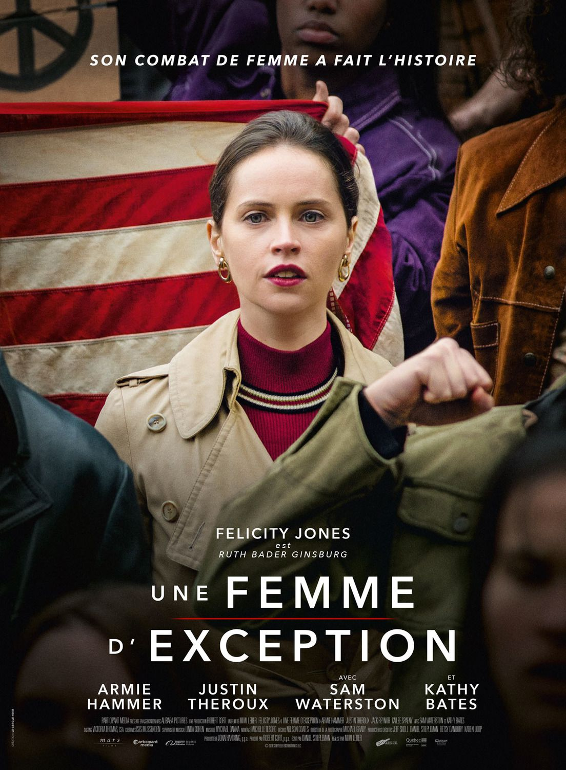Une Femme d'Exception (2018) - Felicity Jones