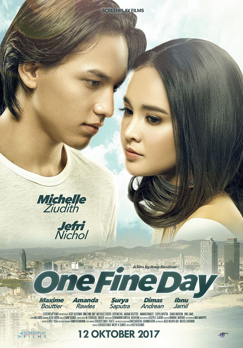 One Fine Day - love film poster