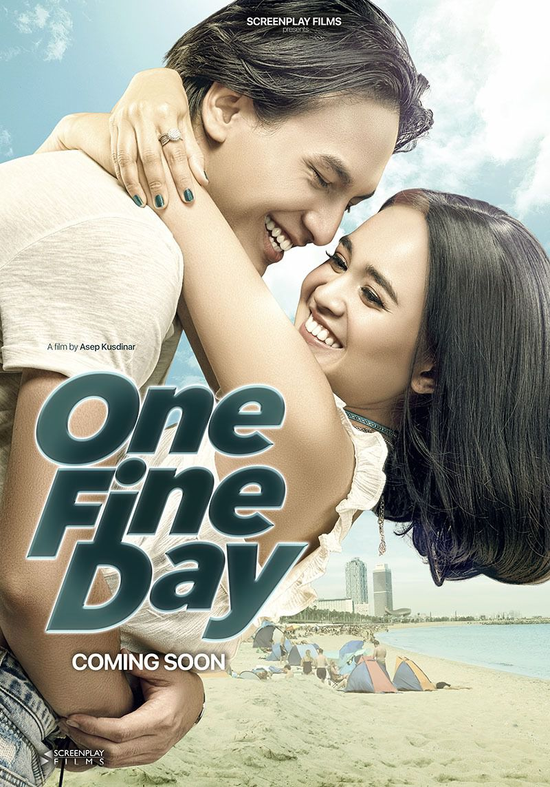 One Fine Day - Cast: Michelle Ziudith, Jefri Nichol - love film poster