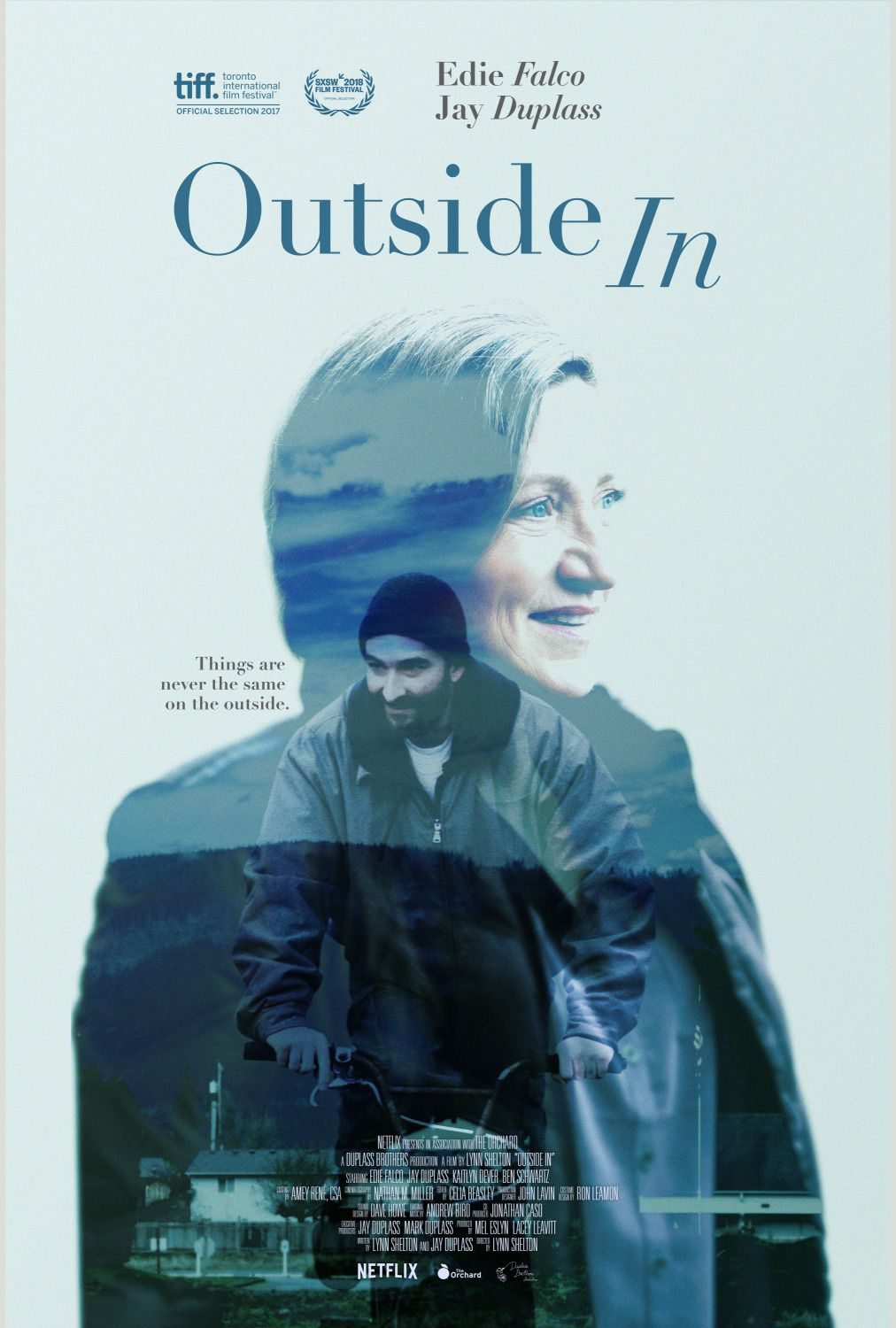Outside In (2018) - film poster