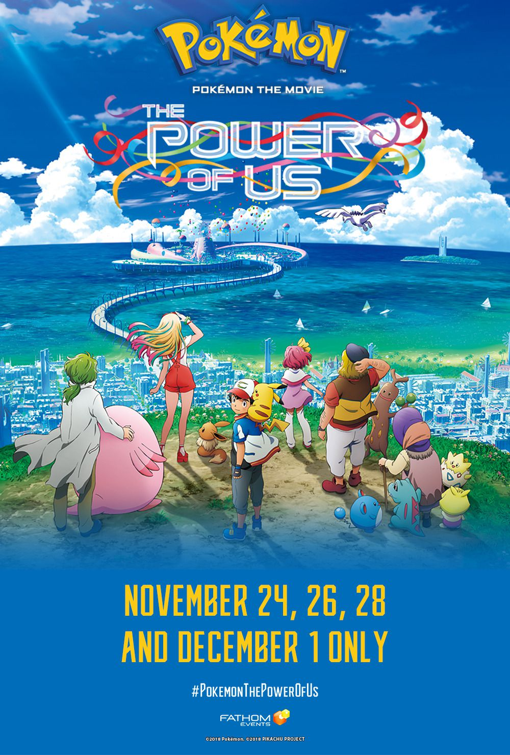 Pokemon the Movie the Power of Us (2018)