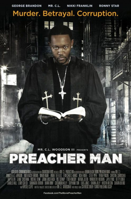 Preacher Man - Cast: George Brandon, Mr C.L., Nikki Franklin, Ronny Star - film poster