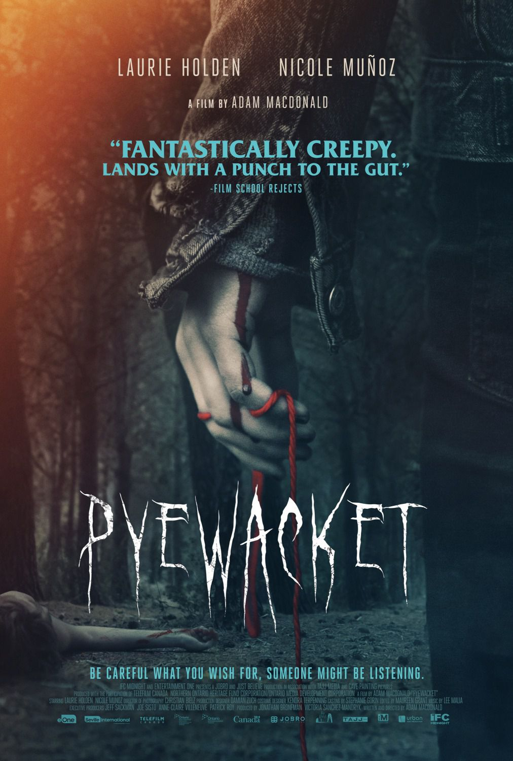 Pyewacket - thriller horror film poster