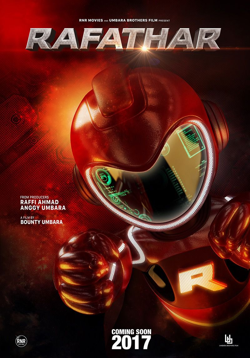 Rafathar - super robot scifi film poster