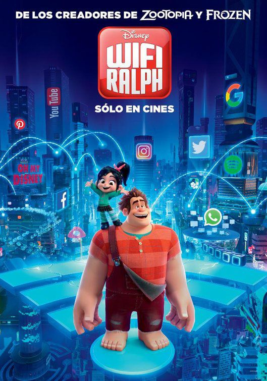 Ralph Spaccatutto 2 - Wreckit Ralph 2 - Ralph breaks the internet (2018)