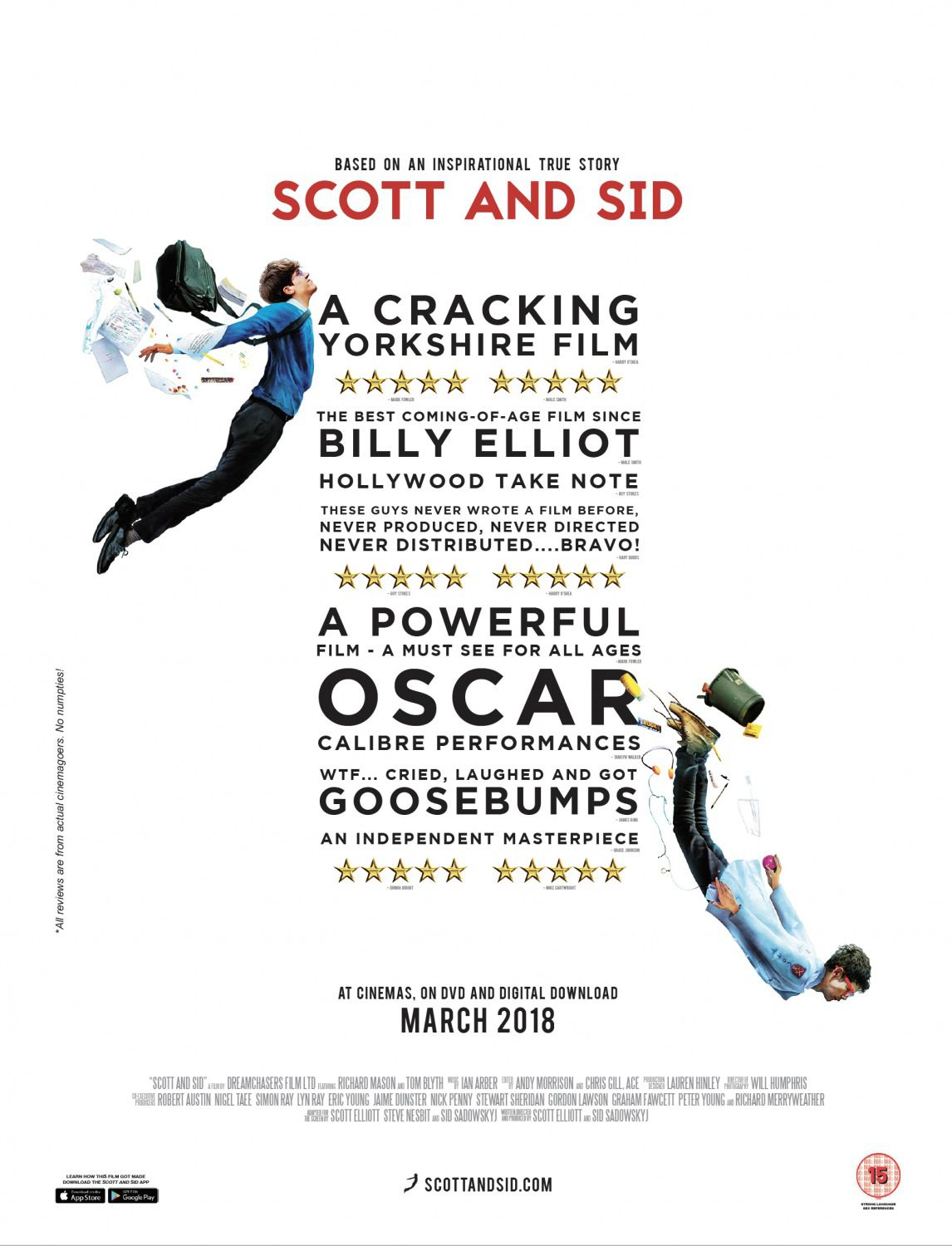 Scott and Sid - based on a true story - film poster 2018
