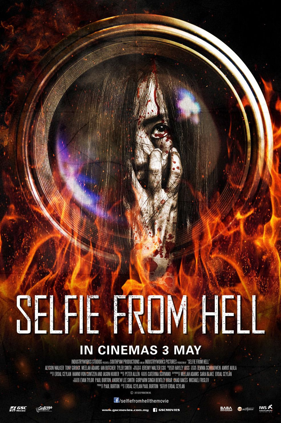 Selfie from Hell - horror film poster
