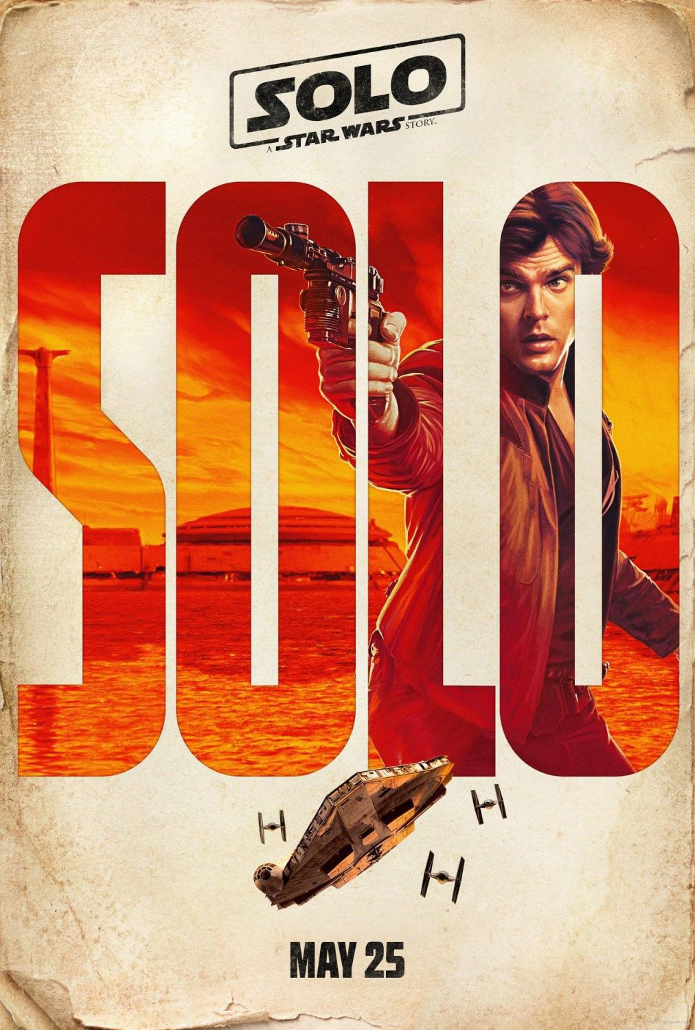 Solo a Star Wars Story (2018) - film poster memorial day