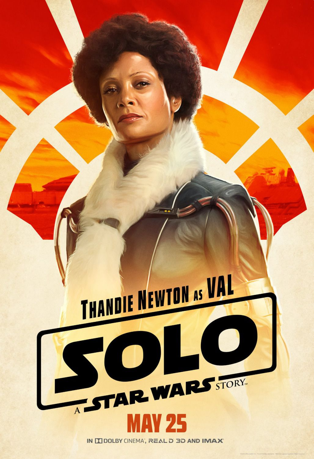 Thandie Newton as Val