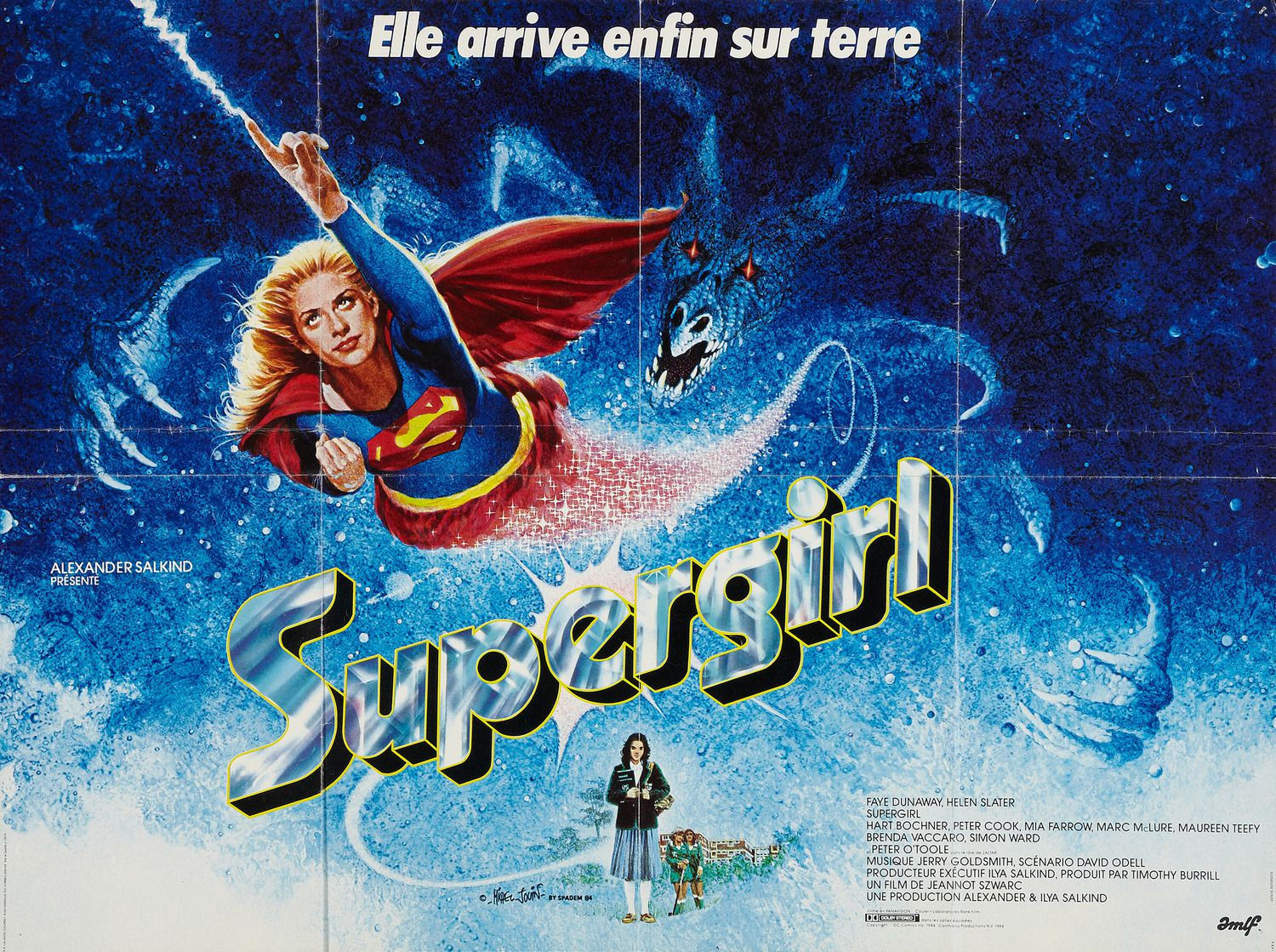 Supergirl - live action film 80s