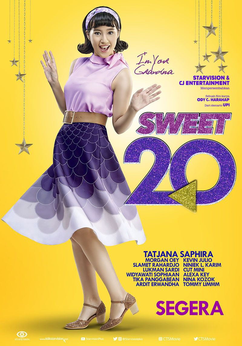 Sweet 20 - film poster